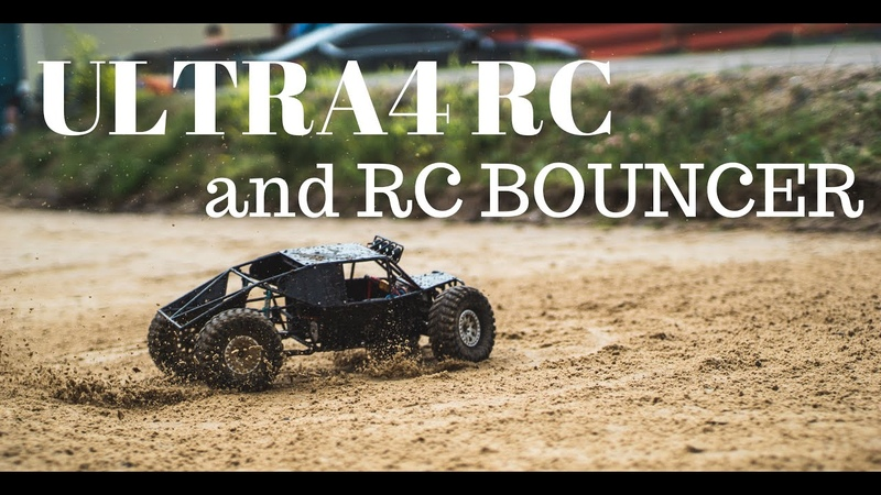 RC Ultra4 and Bouncer quarry bashing