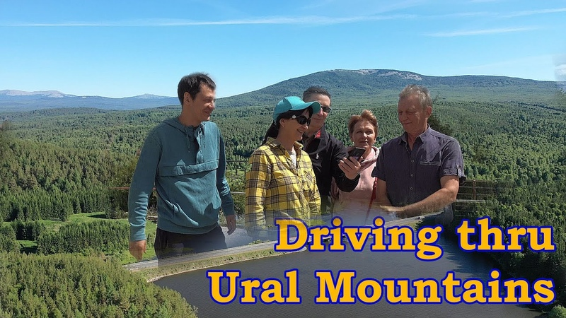 Driving thru Ural Mountains Zlatoust Taganai National Park and Horse Tack Company Tour