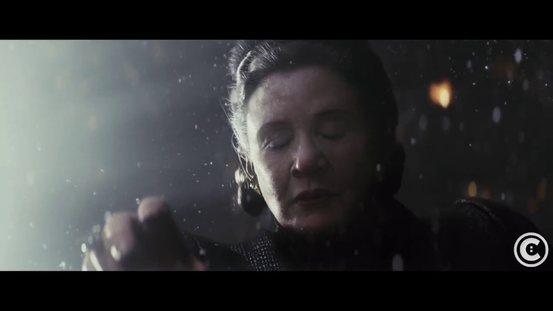 Leia uses the force in space but doesn t fly