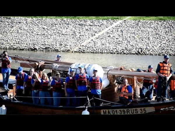 Детский экипаж экспедиции Вместе по Русскому Северу 2020 прибыл в Вологду