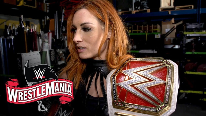 Becky Lynch shares a post WrestleMania message with Shayna Baszler WWE Exclusive April 4 2020