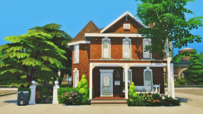 СЕМЕЙНЫЙ ДОМ Симс 4 Строительство Family Home│SpeedBuild│NO CC The Sims 4