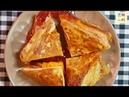 초간단 토스트 만들기, French Toast Omelette sandwich, Egg Sandwich Hack, Korea Food, Kfood, honchanori 12