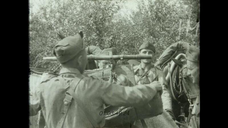 F lli Chierici I Lancieri di Novara Esercitazioni di guerra a cavallo luglio 1942