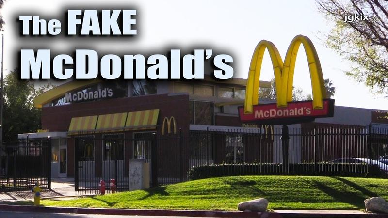 Fake McDonald's City of Industry CA