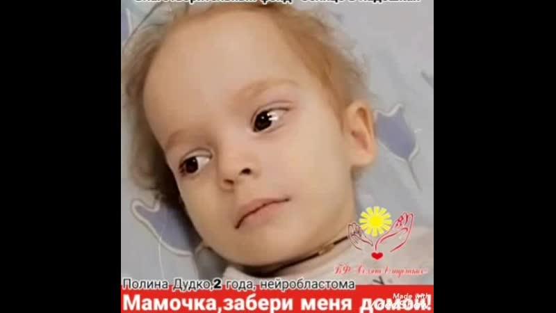 Подари мне жизнь Полина Дудко