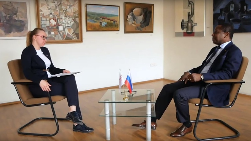 Интервью с почетным гостем УИУ РАНХиГС Габриэлем Кочофа