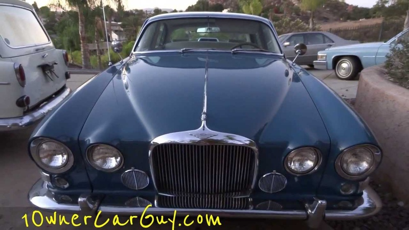 66 Jaguar 4.2 Mark X 420G Interior Review Test Drive Straight 6 Engine Options Video