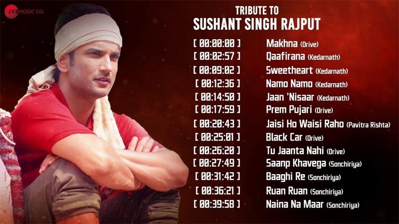 Tribute to Sushant Singh Rajput Makhna Qaafirana Sweetheart Namo Namo Video Jukebox
