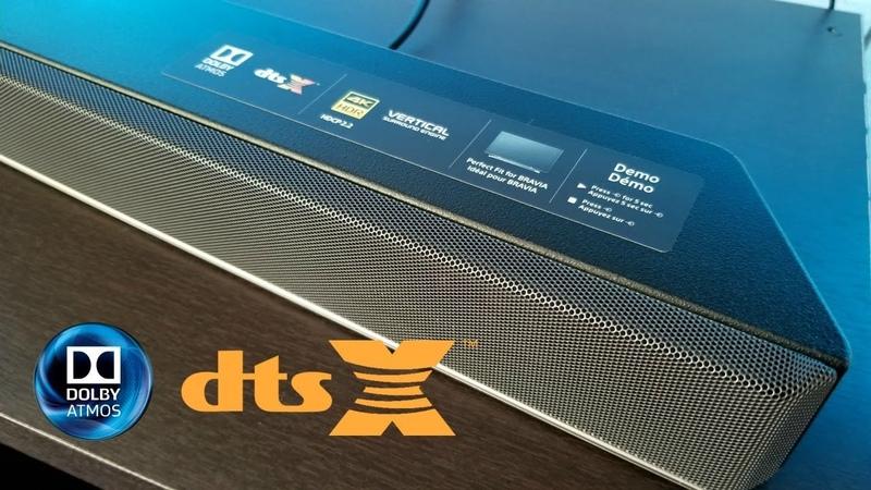 Sony HTX 9000F Dolby Atmos Soundbar Movie experience