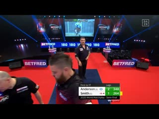 Michael Smith vs Gary Anderson (PDC World Matchplay 2020 / Semi Final)
