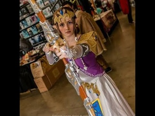 Princess Zelda Twilight Princess Cosplay Tutorial Part 3/3