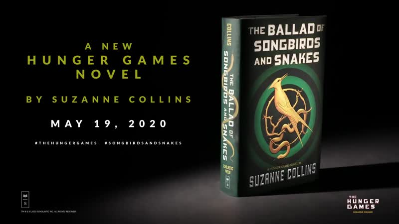 Book-Trailer! The Ballad of Song Birds And Snakes, a new Hunger Games novel by Suzanne Collins.