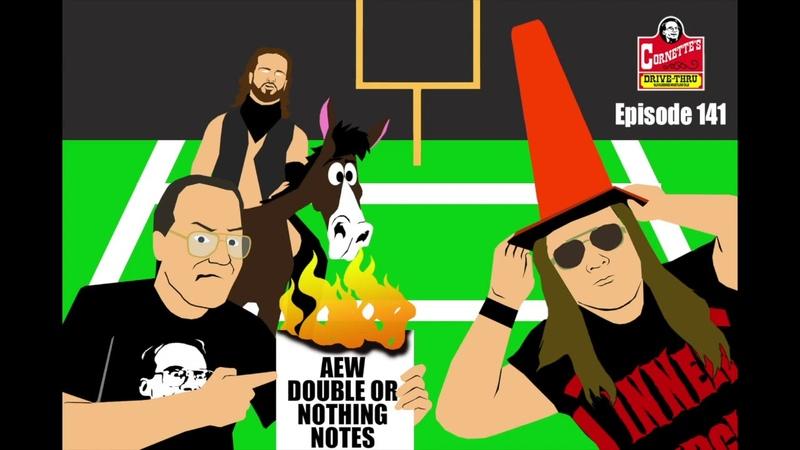 My1 Jim Cornette Reviews AEW's Stadium Stampede Match