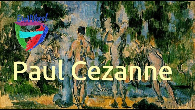 Paul Cézanne 1839 1906 Classical nude oil paintings