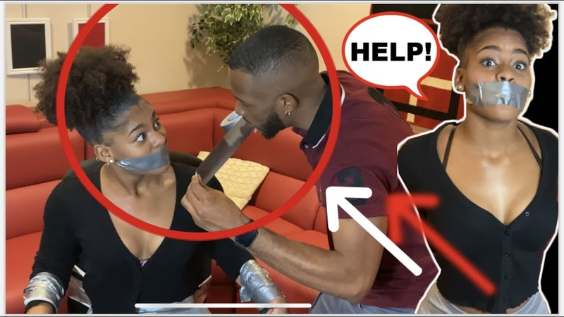 EXTREME ESCAPE DUCT TAPE CHALLENGE 😱