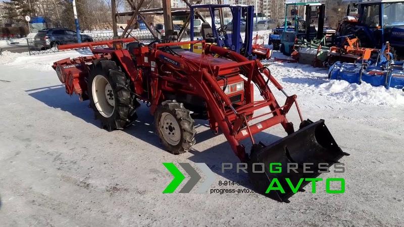 Трактор YANMAR FX265 с куном, фрезой и с ПСМ