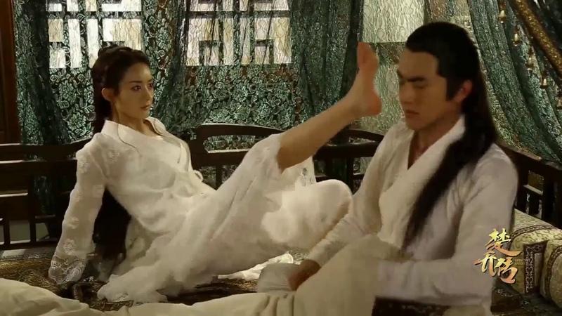 Những phân đoạn NG vui nhộn trong phim Sở Kiều Truyện Triệu Lệ Dĩnh vs Lâm Canh Tân