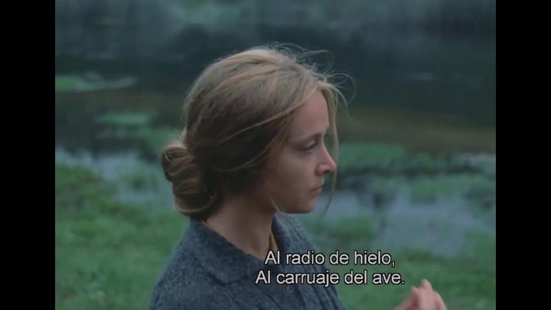 Tarkovsky El hombre tiene un cuerpo cual una celda The Mirror subtitulado a español