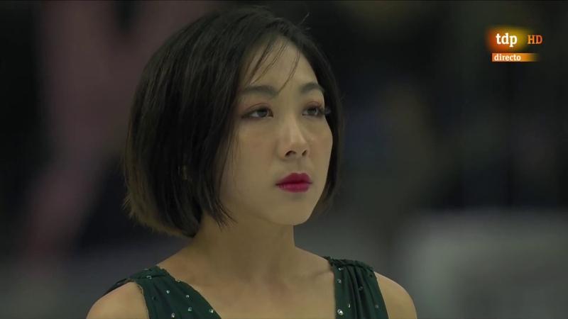 Wenjing SUI Cong Han CHN Free Skate 2019 Grand Prix Final Torino