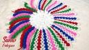 ❤️ HEM ÇOK KOLAY HEM DE ÇOOK GÜZEL! 🌈 Rengarenk Çarkıfelek Lif Modeli Yapımı TPamuk Örgüler