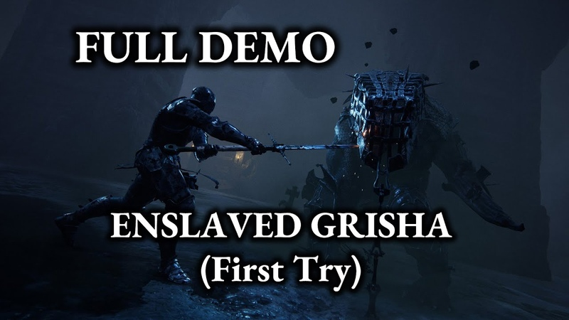 Mortal Shell Full DEMO Grisha First Try