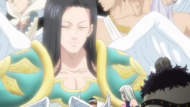 Nanatsu no Taizai Kamigami no Gekirin TV 3 Семь Смертных Грехов Гнев Богов 19 серия Озвучка Kari Anzen AniLibria MVO